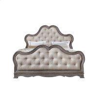 Simply Charming Tufted Upholstered Footboard with Slats Product Image