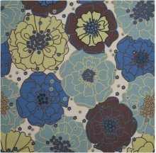 Home & Garden Rs021 Ltb Square Rug 6'6'' X 6'6''