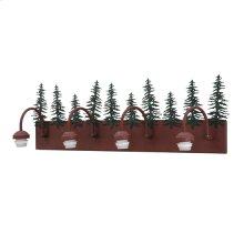 "35"" Wide Spruce Pine Vanity Hardware"