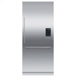 "Fisher & PaykelIntegrated Refrigerator Freezer, 36"", Ice & Water"