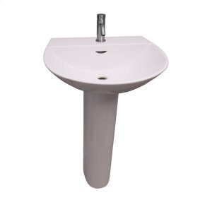 Reserva 550 Pedestal Lavatory - White Product Image