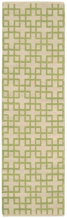 Maze Maz01 Moss Runner 2'3'' X 8'