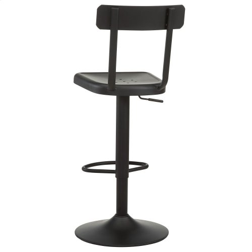 Haines Adjustable Stool in Black, 2pk
