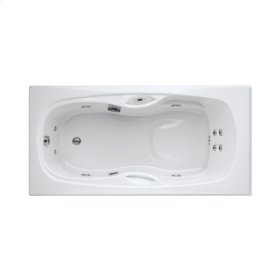 "Easy-Clean High Gloss Acrylic Surface, Rectangular, Whirlpool Bathtub, Signature Package, 32"" X 60"""
