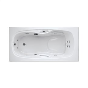 "Easy-Clean High Gloss Acrylic Surface, Rectangular, AirMasseur® - Whirlpool Bathtub, Premiere Package, 32"" X 60"""
