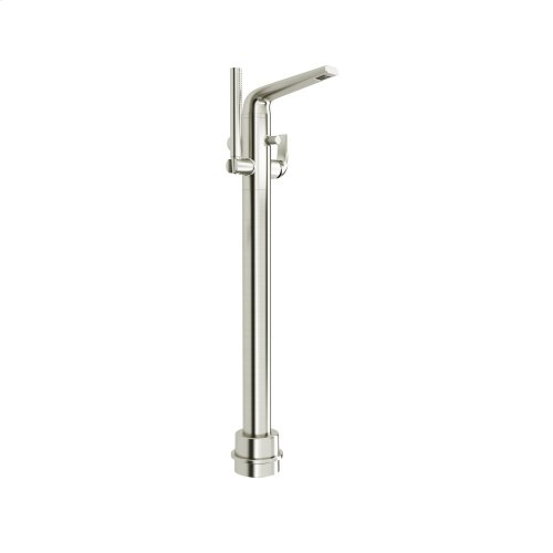 DXV Modulus Floor Mount Tub Filler - Brushed Nickel