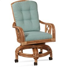 Edgewater High Back Swivel Rocker Chair