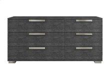 The Hampton Gray Birch Lacquer Dresser
