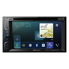 "Multimedia DVD Receiver with 6.2"" WVGA Display, Apple CarPlay™, Built-in Bluetooth®, HD Radio™ Tuner, SiriusXM-Ready™ and AppRadio Mode +"