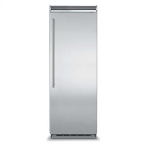 "MarvelMarvel Professional Built-In 30"" All Freezer - Solid Stainless Steel Door - Left Hinge, Slim Designer Handle"