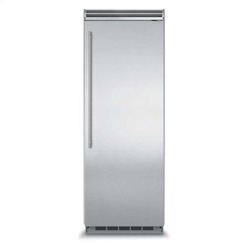 "Marvel Professional Built-In 30"" All Freezer - Solid Stainless Steel Door - Right Hinge, Slim Designer Handle"