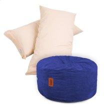 Pillow Pod Footstools - Corduroy - Navy