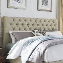 Queen Chesterfield Sleigh Headboard