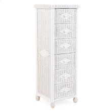 6 Drawer Lingerie Chest Cotton 3706