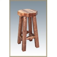 Homestead Barstool - Stained and Lacquered