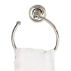 Polished-Chrome Towel Ring - Open Product Image