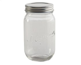 Magnolia Mason Jar with Lid