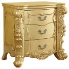 """Zelda Gold Night Stand - 30""""L x 20""""D x 30.5""""H Product Image"""