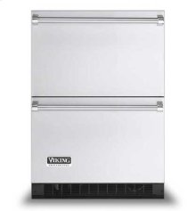 "Stainless Steel 24"" Refrigerated Drawers - VURD (Professional model)"