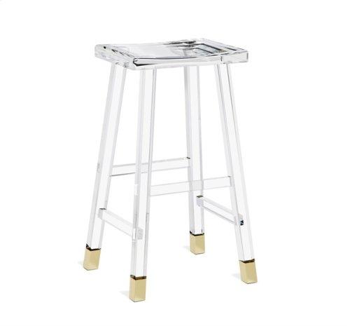 Reva Bar Stool - Brass