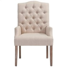 Lucian Accent Chair in Beige