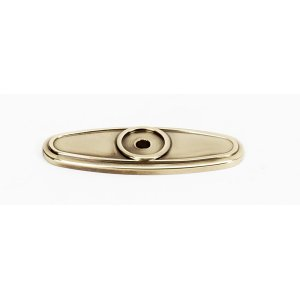Classic Traditional Backplate A1565 - Polished Antique