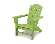 Vintage Lime Nautical Adirondack Chair in Vintage Finish