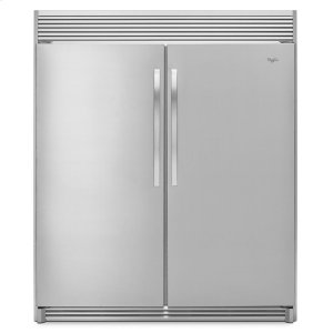 WHIRLPOOL31-inch Wide SideKicks(R) All-Refrigerator with LED Lighting - 18 cu. ft.
