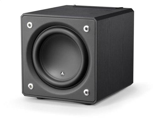 10-inch (250 mm) Powered Subwoofer, Black Ash Finish