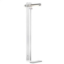 Floor Lamp - Polished Nickel