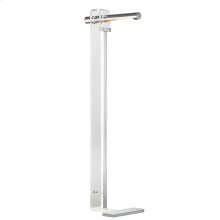 Floor Lamp - Polished Nickel