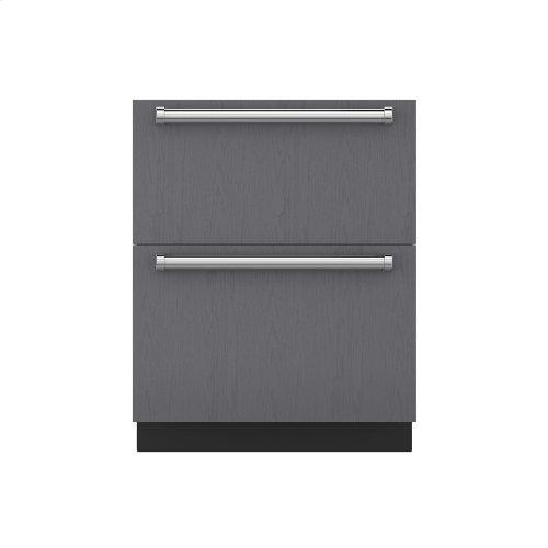 "27"" Refrigerator Drawers - Panel Ready"