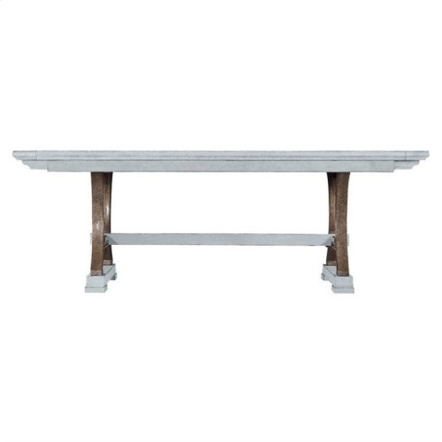 Resort Shelter Bay Table in Sea Salt