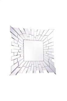 Modern 24 in. Contemporary Mirror in Clear