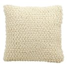 "Life Styles Dc142 Ivory 20"" X 20"" Throw Pillow Product Image"
