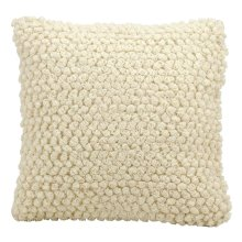 "Life Styles Dc142 Ivory 20"" X 20"" Throw Pillow"