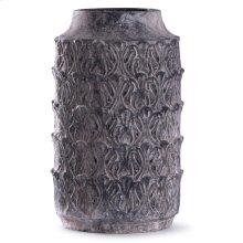 Binani Charcoal  19in x 10in Decorative Concrete Vase