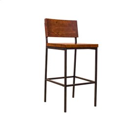 Bar Stool - Java Pine Finish