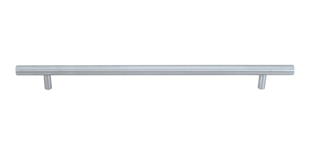 Linea Rail Pull 9 1/16 Inch (c-c) - Brushed Nickel