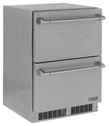 "Lynx 24"" Two Drawer Refrigerator"