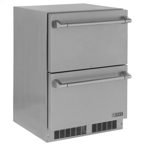 "LynxLynx 24"" Two Drawer Refrigerator"