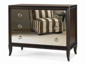Bachelor Chest With Mirrored Drawer Fronts