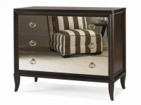Tribeca Bachelor Chest With Mirrored Drawers Product Image
