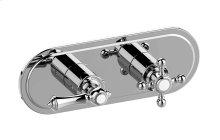 Canterbury M-Series Valve Horizontal Trim with Two Handles