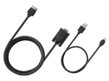 AppRadio Mode VGA Interface Cable Kit for iPhone® 5. Compatible with 2014 AVH Models.