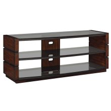 Perfect for a living room or entertainment space, this bowfront Cowles TV s...