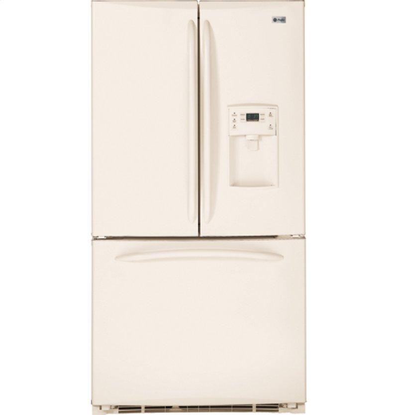 Ge Profile Energy Star Counter Depth 20 9 Cu Ft French Door Refrigerator