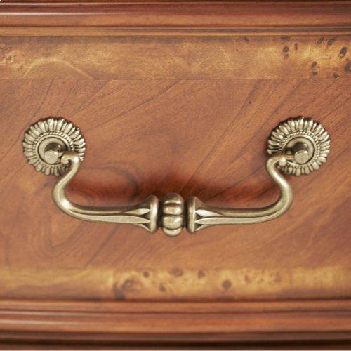 Leather Bedside Bench