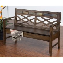 Savannah Bench With Storage