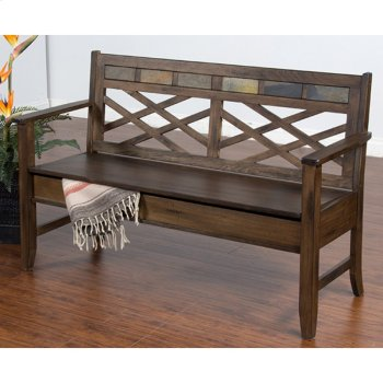 Savannah Bench With Storage Product Image